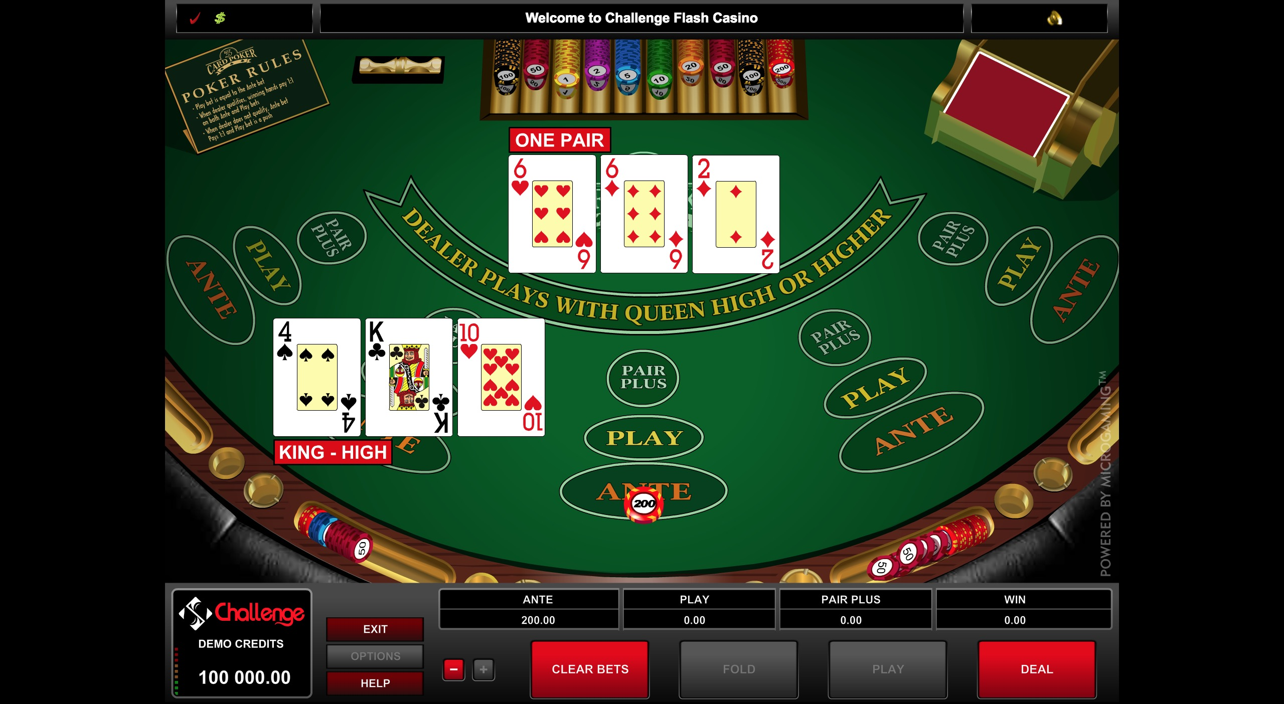Online Poker Experience